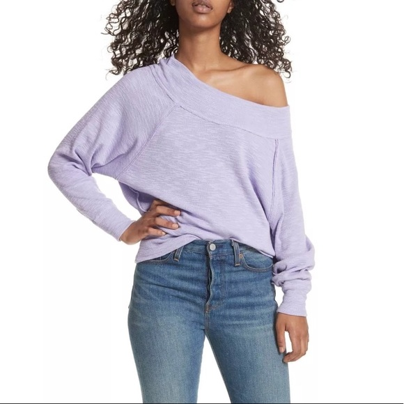 a1c16b9f78cfe NWT Free people palisades off the shoulder top